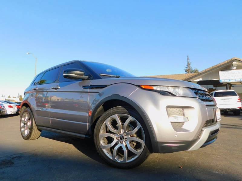 2012 LAND ROVER RANGE ROVER EVOQUE DYNAMIC AWD 4DR SUV gray 2-stage unlocking doors 4wd type - f