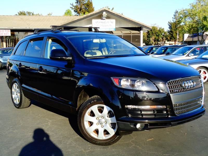 2007 AUDI Q7 36 QUATTRO AWD 4DR SUV black 2-stage unlocking doors 4wd type - full time abs - 4