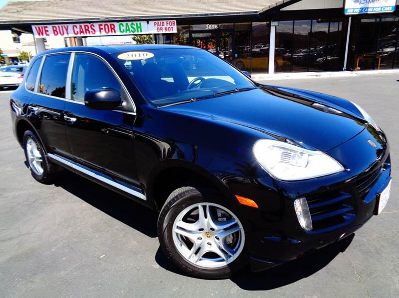 2010 PORSCHE CAYENNE S AWD 4DR SUV black exceptionally clean clean carfax comes with warran