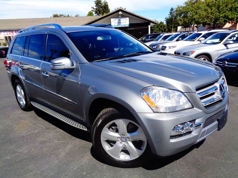 2011 MERCEDES-BENZ GL-CLASS GL450 4MATIC AWD 4DR SUV gray 1 owner clean carfax  2-stage unl