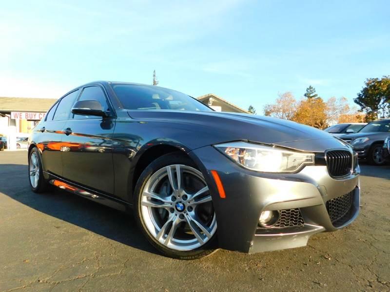 2015 BMW 3 SERIES 328I 4DR SEDAN SULEV gray 2-stage unlocking doors abs - 4-wheel active head r