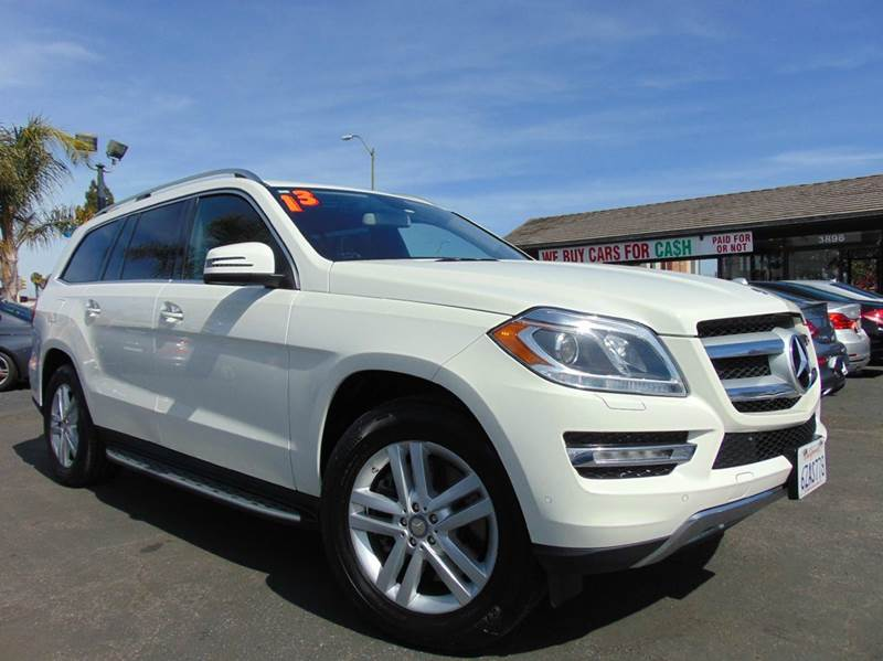 2013 MERCEDES-BENZ GL-CLASS GL 450 4MATIC AWD 4DR SUV white clean carfaxone ownercaliforni
