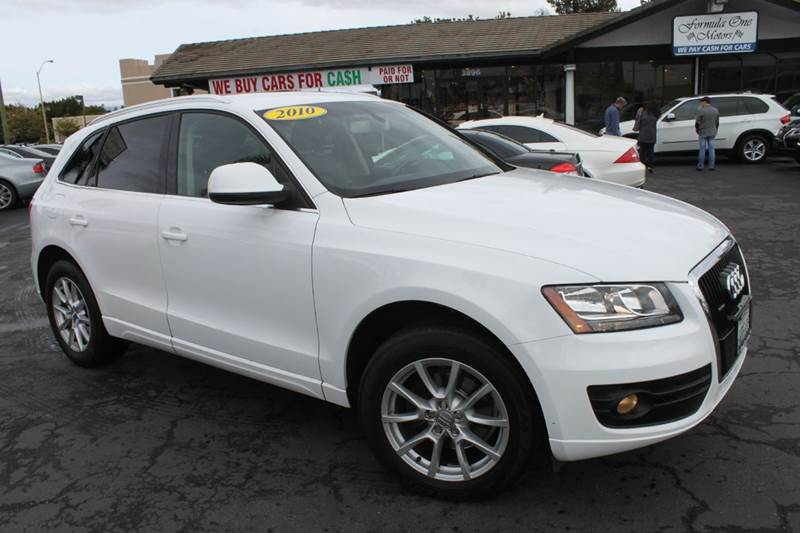 2010 AUDI Q5 32 QUATTRO PREMIUM AWD 4DR SUV white clean carfaxcalifornia car32 liter all