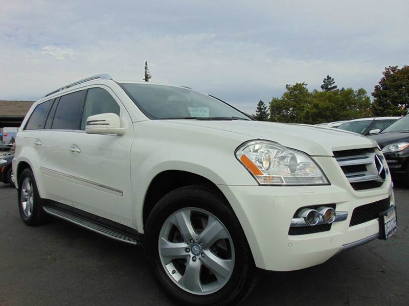 2011 MERCEDES-BENZ GL-CLASS GL 450 4MATIC AWD 4DR SUV white 2-stage unlocking doors 4wd type - f
