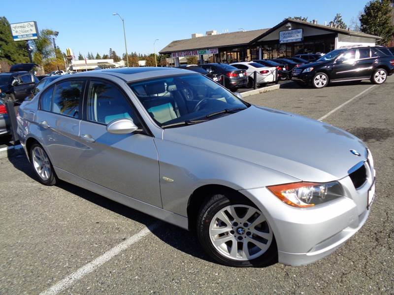 2007 BMW 3 SERIES 328I 4DR SEDAN silver clean carfax low miles automatic transmission equip