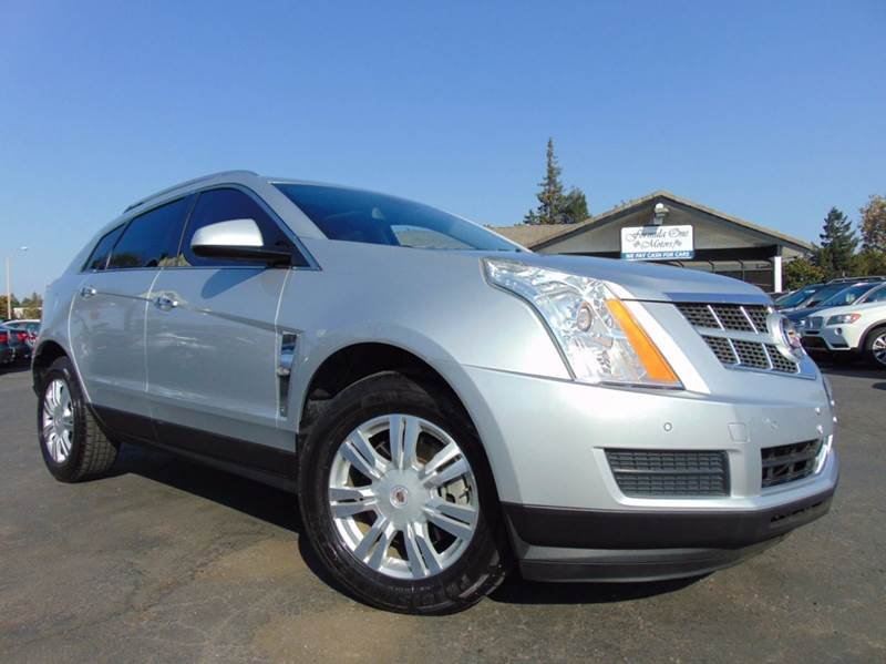 2012 CADILLAC SRX LUXURY COLLECTION 4DR SUV silver clean carfax reportcalifornia vehiclelo