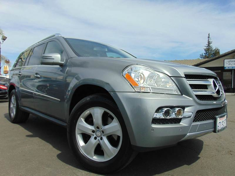 2011 MERCEDES-BENZ GL-CLASS GL 450 4MATIC AWD 4DR SUV gray one ownercalifornia vehiclealwa