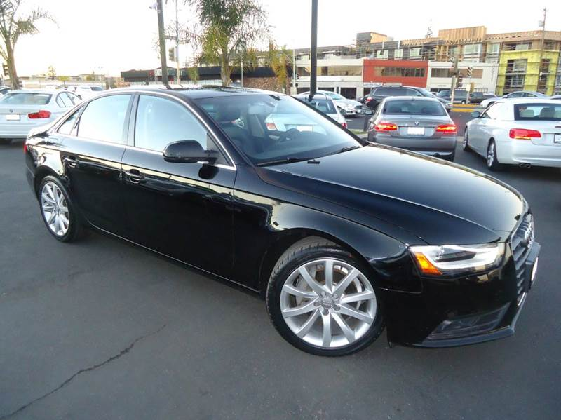 2013 AUDI A4 20T PREMIUM PLUS 4DR SEDAN black 1 owner  clean carfax fully loaded  premi