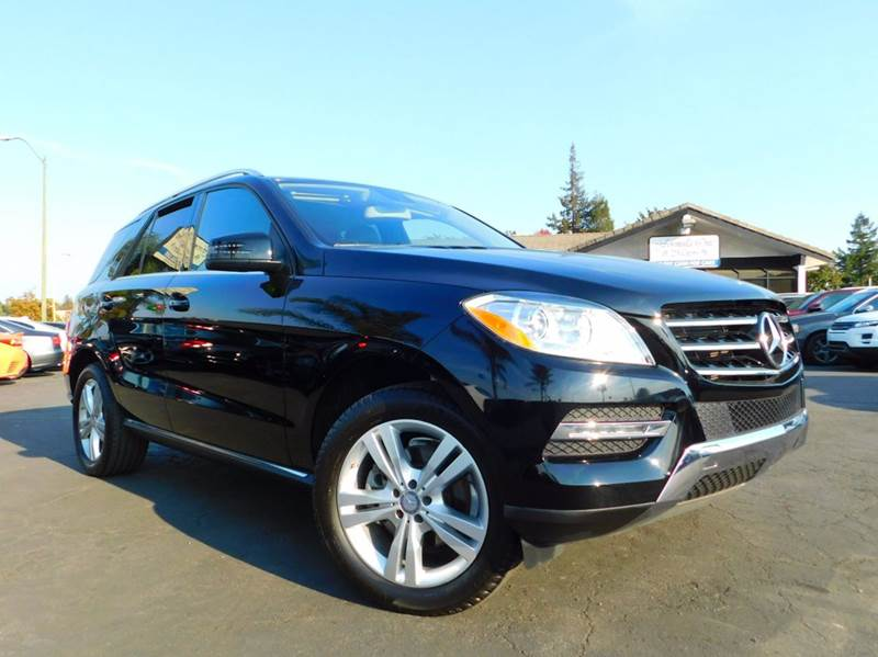 2015 MERCEDES-BENZ M-CLASS ML 350 4DR SUV black one ownerclean carfax history reportcalifo
