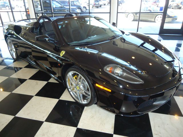 2007 FERRARI F430 SPIDER nero this is a very nice f430 spider  fantastic color combination of the