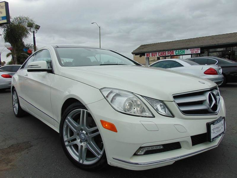 2011 MERCEDES-BENZ E-CLASS E 350 2DR COUPE white 2-stage unlocking doors abs - 4-wheel active h