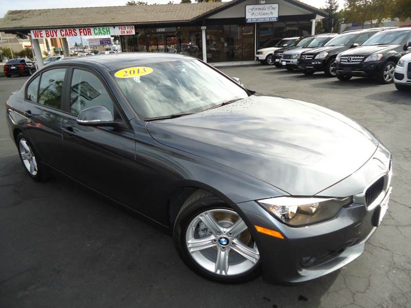 2013 BMW 3 SERIES 328I 4DR SEDAN SULEV gray 1 owner clean carfax california vehiclefully lo