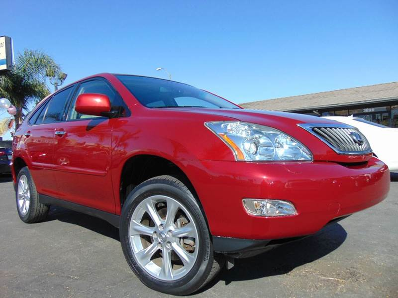 2009 LEXUS RX 350 AWD 4DR SUV red one ownerclean carfax reportall scheduled maintenances