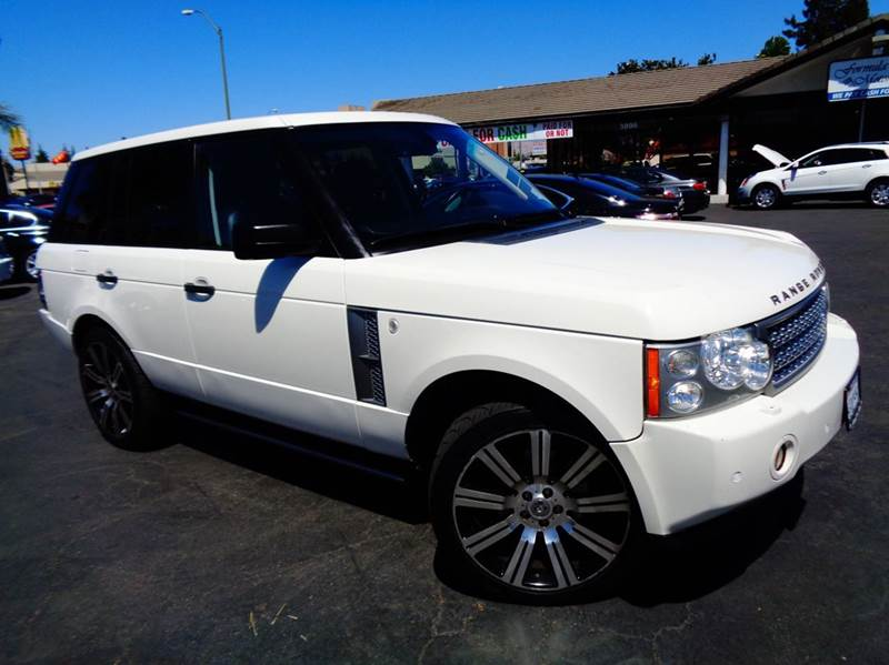 2008 LAND ROVER RANGE ROVER HSE 4X4 4DR SUV white clean carfax  hse range rover  loaded