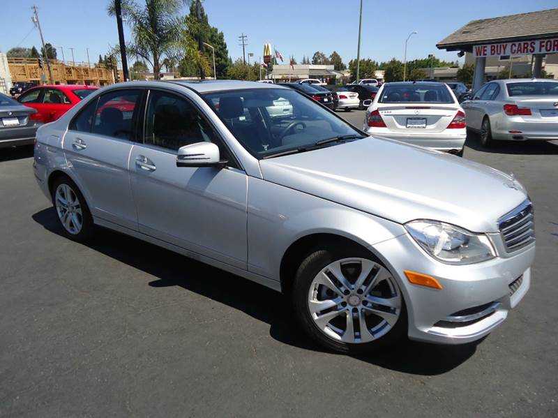 2013 MERCEDES-BENZ C-CLASS C250 LUXURY 4DR SEDAN silver 1 owner clean carfaxluxury package