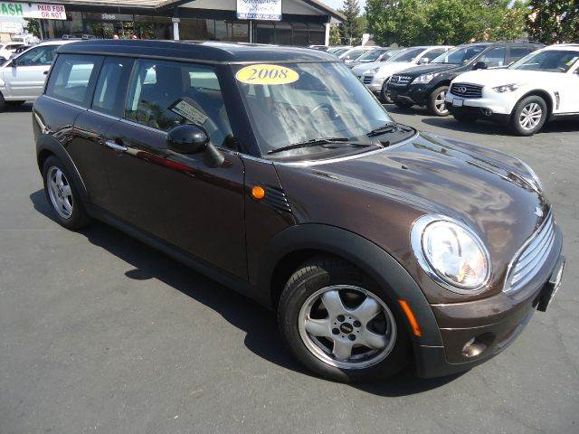 2008 MINI COOPER CLUBMAN CLUBMAN brown club manlow milespower windows door locks and mir