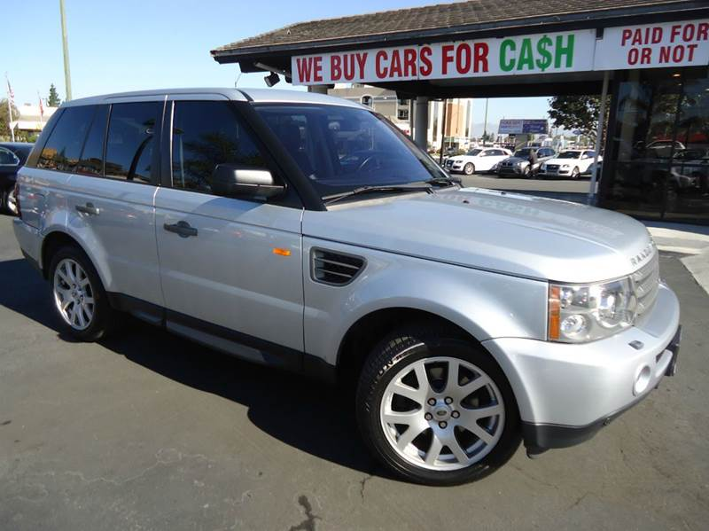 2008 LAND ROVER RANGE ROVER SPORT HSE 4X4 4DR SUV silver low miles clean carfax luxury pack