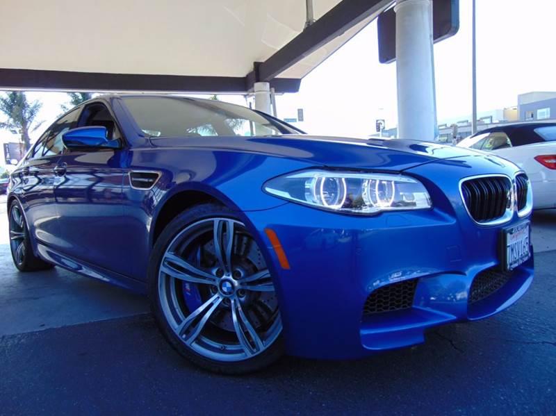 2014 BMW M5 BASE 4DR SEDAN monte carlo blue metallic one ownerclean carfax reportcaliforn
