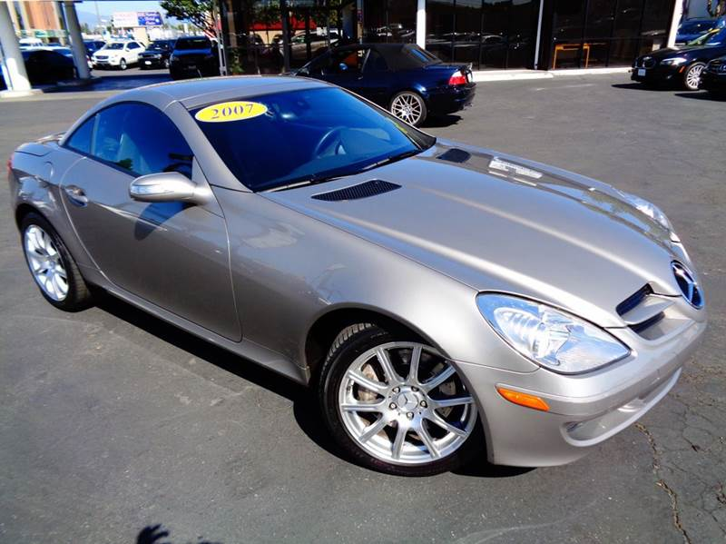2007 MERCEDES-BENZ SLK SLK350 2DR CONVERTIBLE pewter 2-stage unlocking doors abs - 4-wheel air