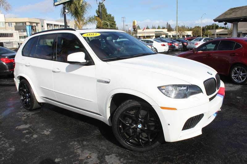 2012 BMW X5 M BASE AWD 4DR SUV white 2-stage unlocking doors 4wd type - full time abs - 4-wheel