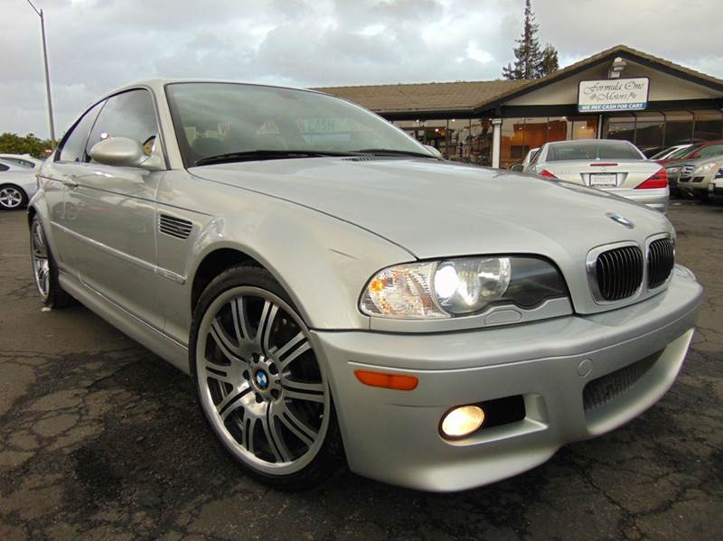 2005 BMW M3 BASE 2DR COUPE silver clean carfaxcalifornia vehiclethis is a super clean and