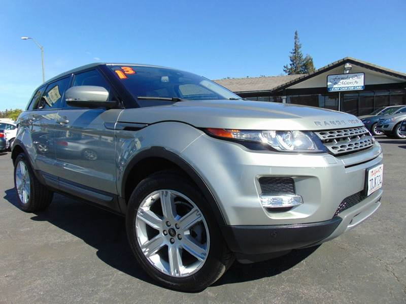 2013 LAND ROVER RANGE ROVER EVOQUE PURE PLUS AWD 4DR SUV colima lime metallic one ownerclean c