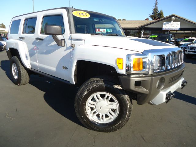 2008 HUMMER H3 BASE white cleane car fax california unithard to find white with moonroof in this