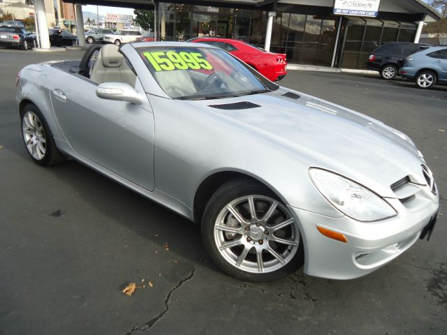 2006 MERCEDES-BENZ SLK-CLASS SLK350 2DR CONVERTIBLE silver perfect  car for california weather th
