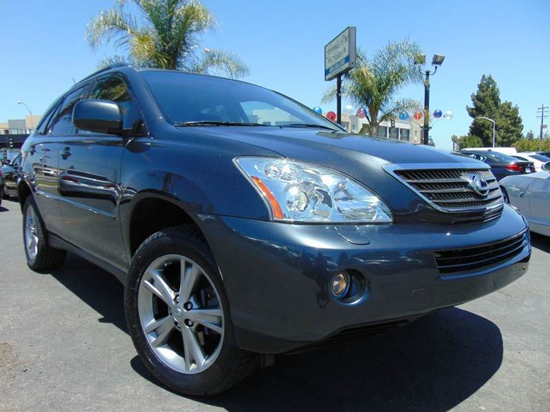 2007 LEXUS RX 400H BASE 4DR SUV charcoal gray one ownercalifornia vehicleonly 50k miles