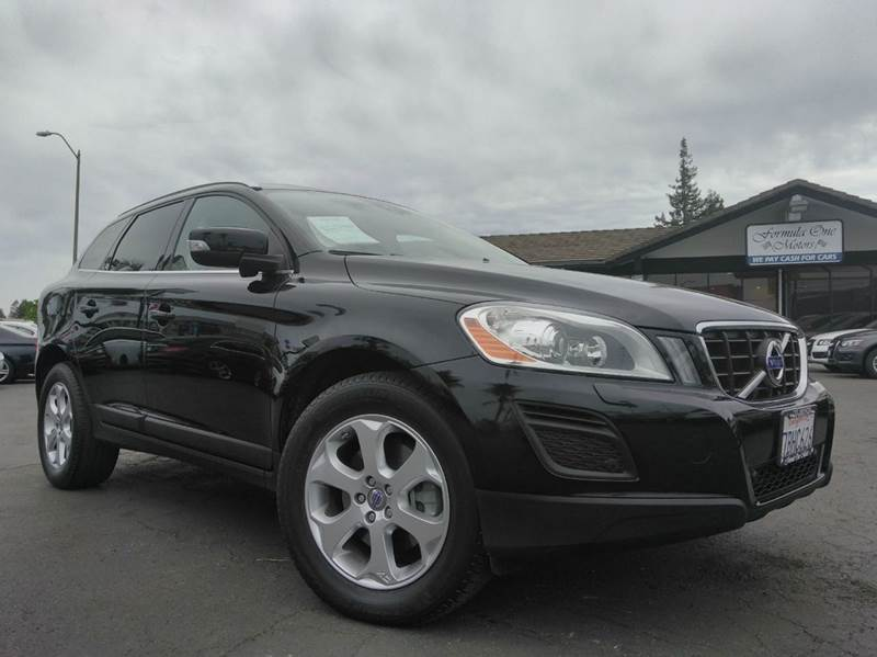 2013 VOLVO XC60 32 4DR SUV black one ownerclean carfaxcalifornia vehiclemeticulously