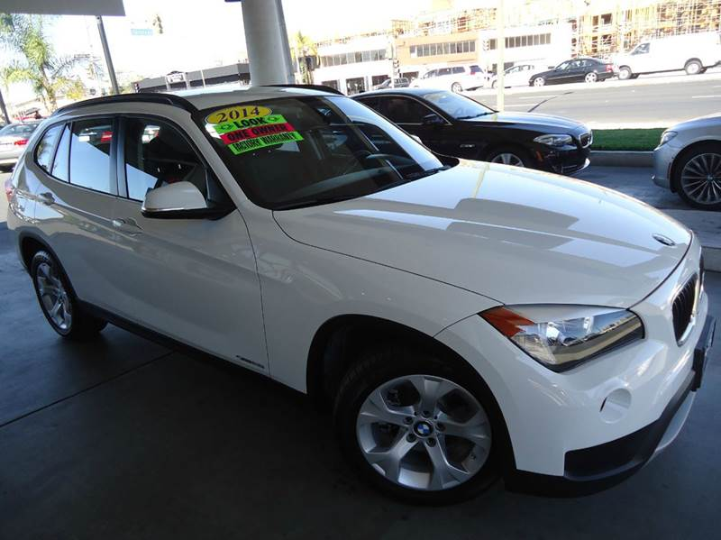 2014 BMW X1 SDRIVE28I 4DR SUV white 2-stage unlocking - remote abs - 4-wheel active head restra