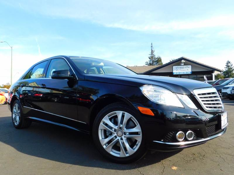 2010 MERCEDES-BENZ E-CLASS E 350 LUXURY 4DR SEDAN black 2-stage unlocking doors abs - 4-wheel a
