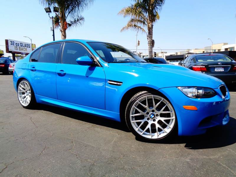 2011 BMW M3 4DR SEDAN laguna seca blue this is a rare vehicle  6 speed manual laguna seca blue