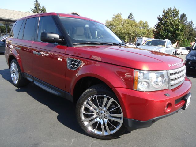 2009 LAND ROVER RANGE ROVER SPORT SUPERCHARGED 4X4 4DR SUV red 2-stage unlocking - remote 4wd typ