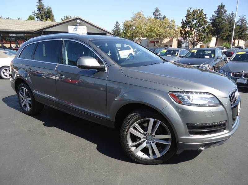 2013 AUDI Q7 30T QUATTRO PREMIUM PLUS AWD 4D gray fully loaded  1 owner clean carfaxpremiu