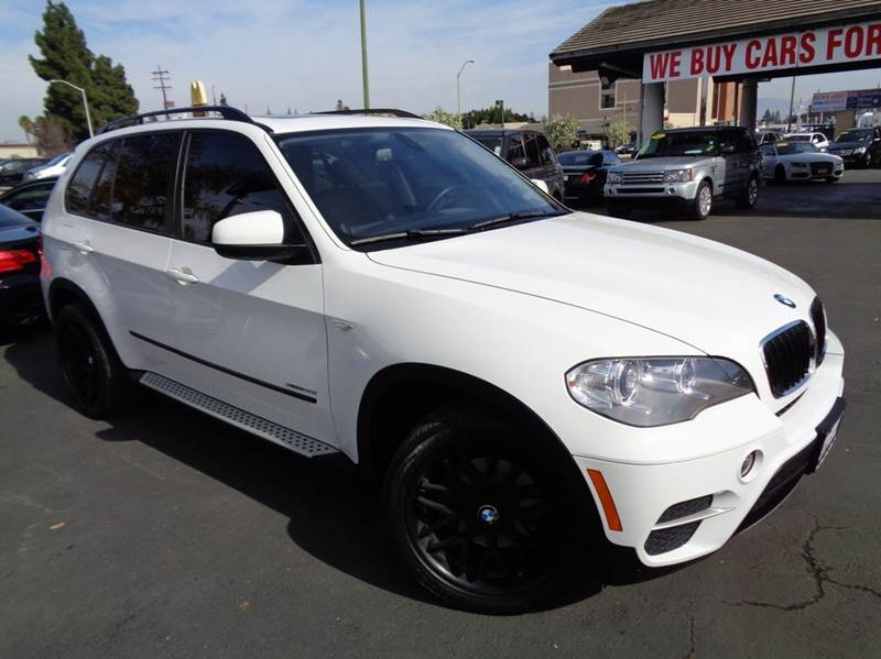 2013 BMW X5 XDRIVE35I PREMIUM AWD 4DR SUV white 2-stage unlocking doors 4wd type - full time abs