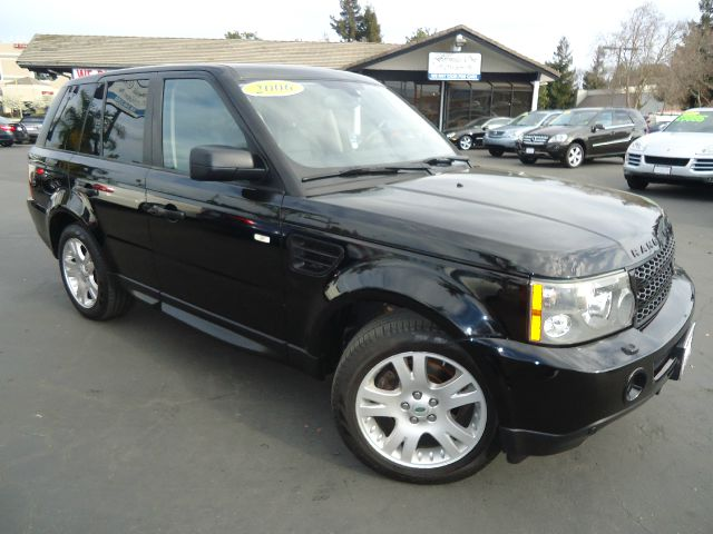 2006 LAND ROVER RANGE ROVER SPORT HSE 4DR SUV 4WD black low miles great deal  navigation syst