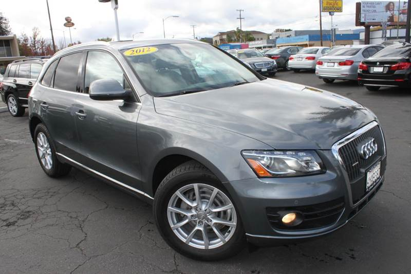 2012 AUDI Q5 20T QUATTRO PREMIUM PLUS AWD 4D silver 2-stage unlocking doors 4wd type - full time