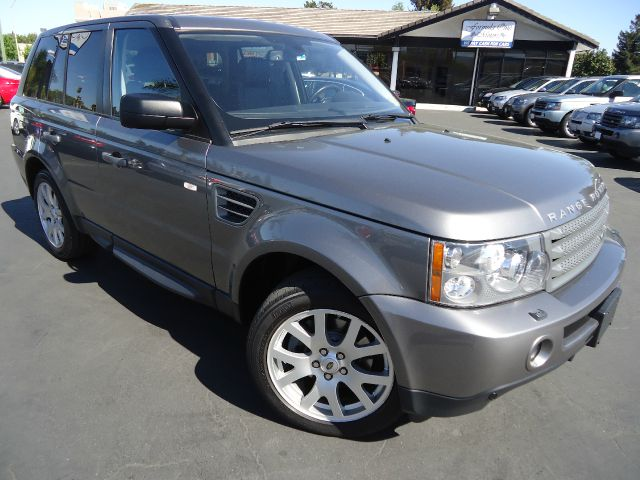 2009 LAND ROVER RANGE ROVER SPORT HSE stornoway gray metallic navigation pkg with rear view camera