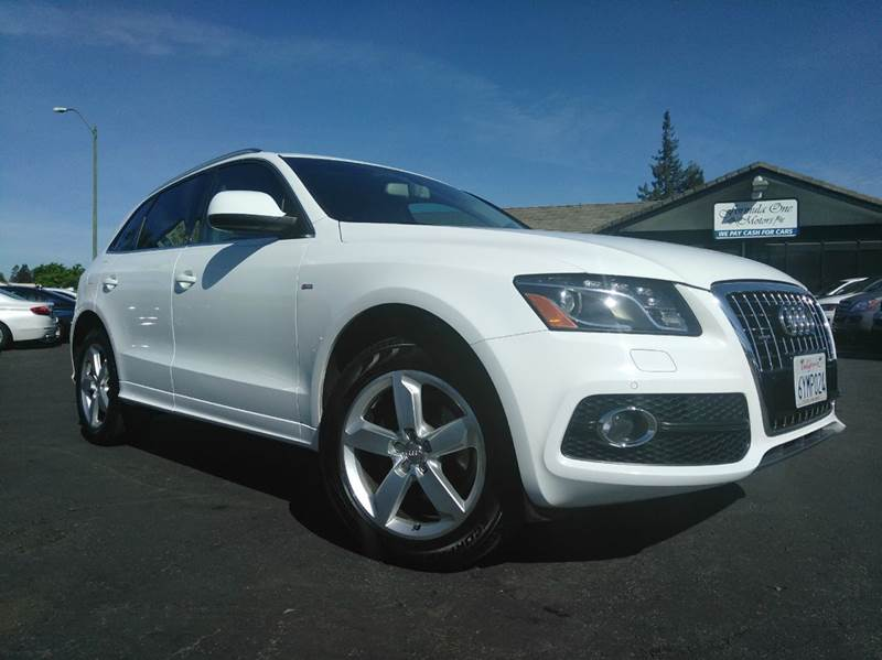 2011 AUDI Q5 32 QUATTRO PREMIUM PLUS AWD 4DR white clean carfaxcalifornia vehiclepremium