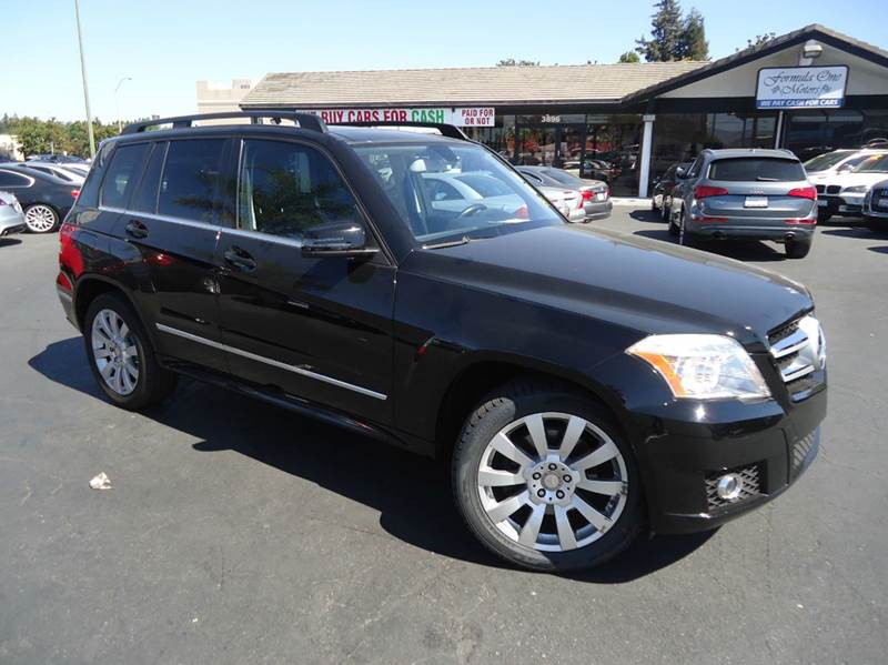 2011 MERCEDES-BENZ GLK-CLASS GLK350 4DR SUV black luxury midsize suv clean carfaxblack on b