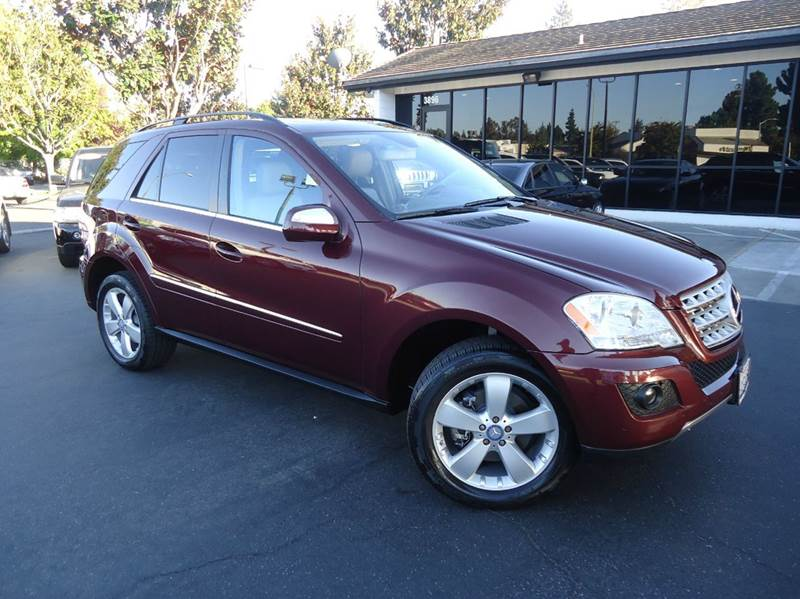 2010 MERCEDES-BENZ M-CLASS ML350 4DR SUV barolo red metallic low mileage clean carfax comes