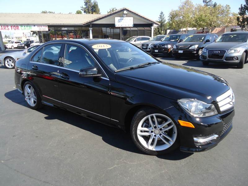 2013 MERCEDES-BENZ C-CLASS C250 SPORT 4DR SEDAN black clean carfaxluxury style and durable