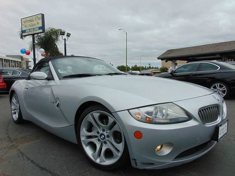 2005 BMW Z4 30I 2DR ROADSTER silver abs - 4-wheel center console trim - alloy clock convertib