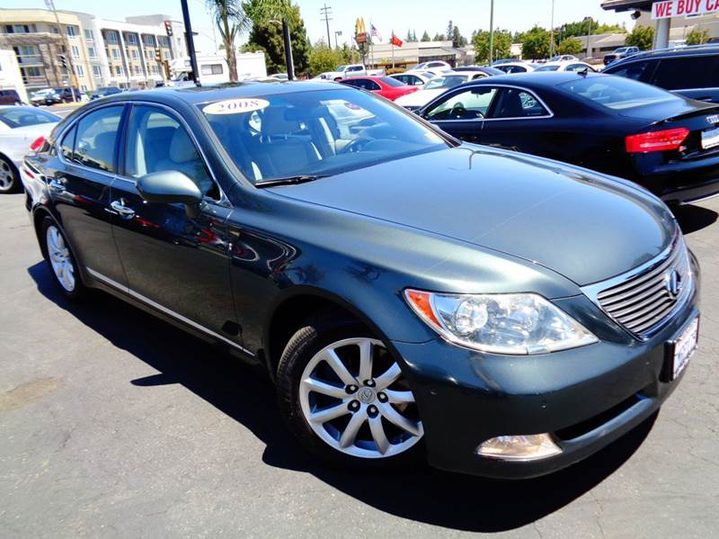 2008 LEXUS LS 460 BASE 4DR SEDAN green 2-stage unlocking doors abs - 4-wheel air filtration air