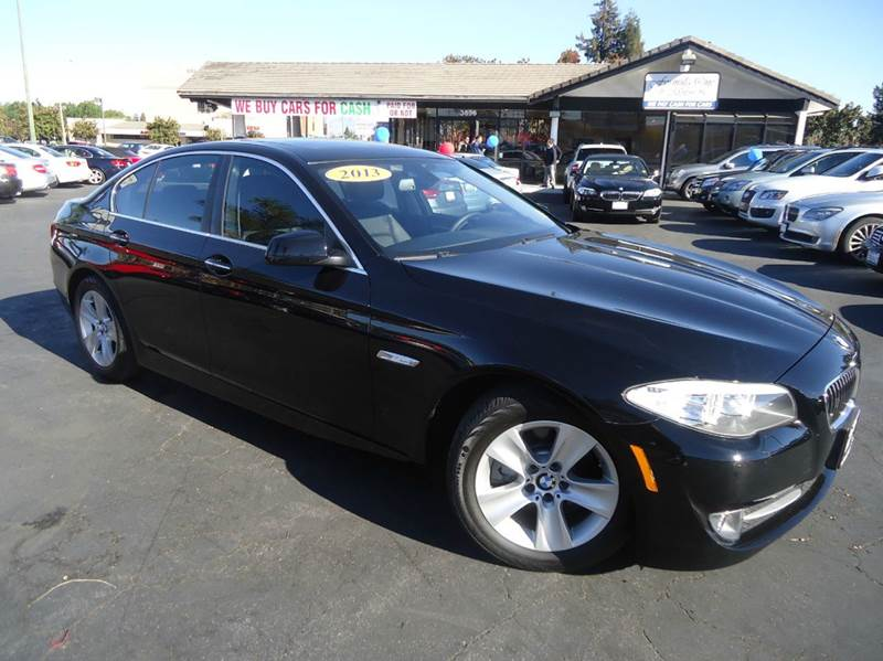 2013 BMW 5 SERIES 528I 4DR SEDAN black one owner clean carfax super clean in and outcomes