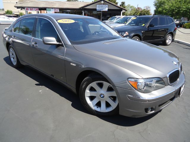 2008 BMW 7 SERIES 750LI 4DR SEDAN kalahari beige metalic navigation pkg  comfort access -   smar