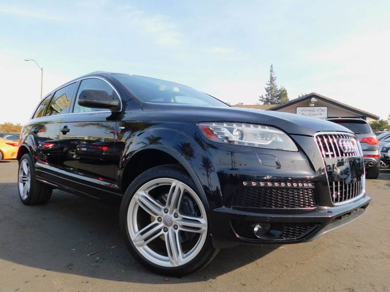 2010 AUDI Q7 36 QUATTRO PREMIUM PLUS AWD 4DR black premium plus package36 liter quattro all