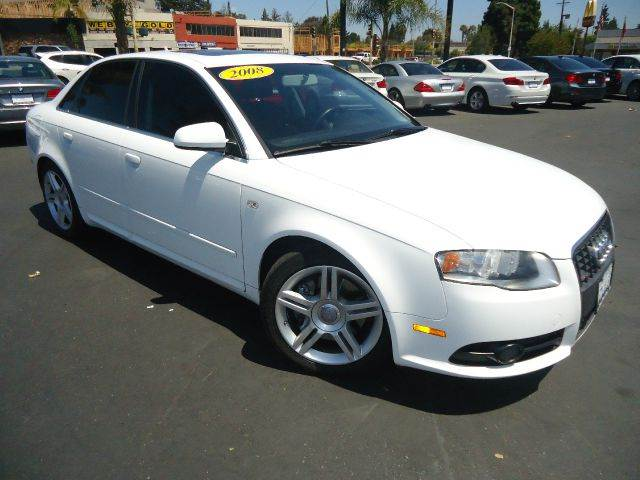 2008 AUDI A4 20T 4DR SEDAN 2L I4 white premium package leahter interior automatic tr
