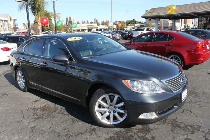 2008 LEXUS LS 460 BASE 4DR SEDAN gray 2-stage unlocking doors abs - 4-wheel air filtration airb